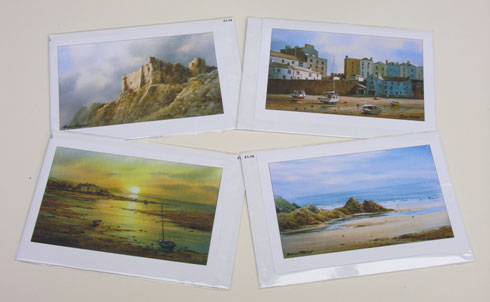 A5 Watercolour Greetings Cards from Graham H Hadlow